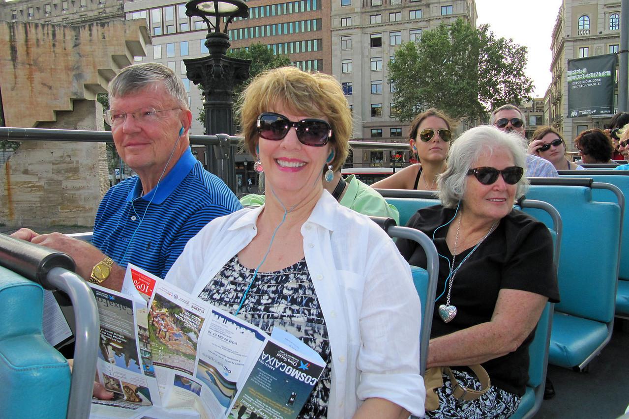 Tour Bus of City - John, Barbara, Betty