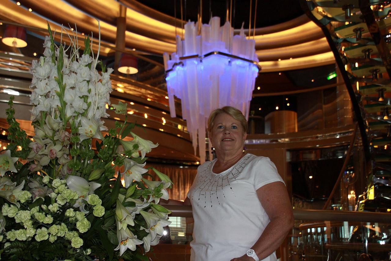 Connie in Ship Atrium