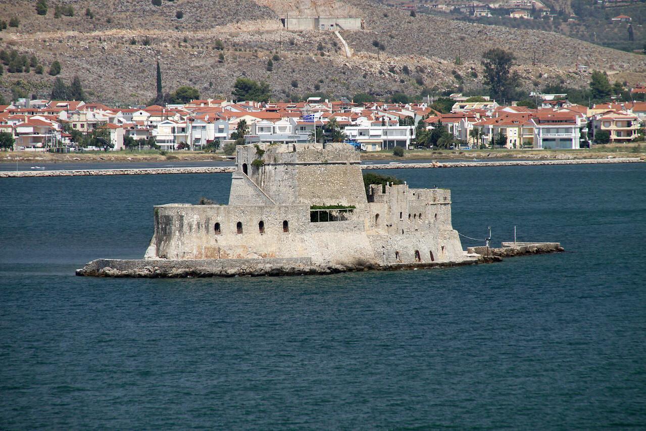 Bourdzi Fort, Navplion Harbor