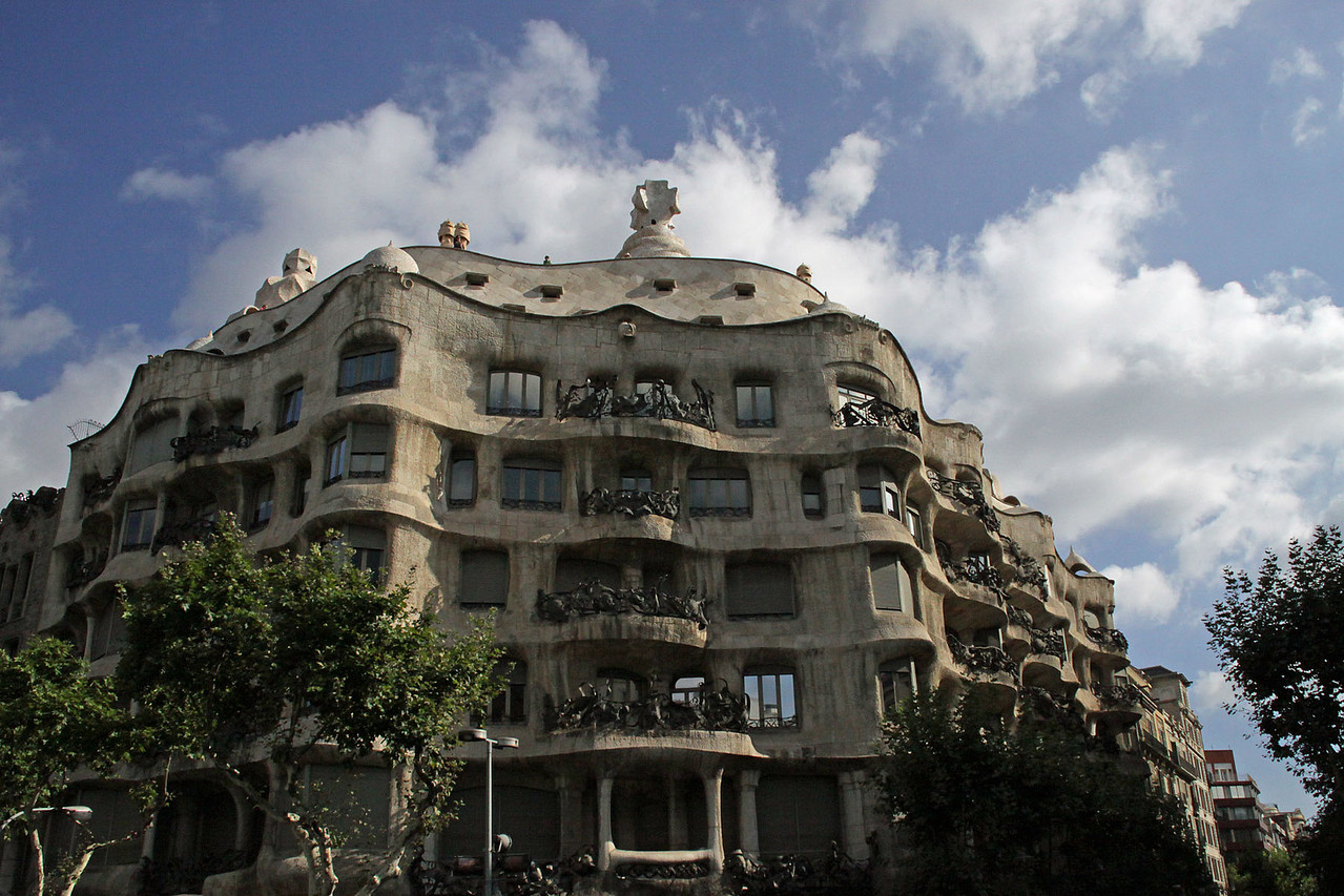 Casa Mila Design By Gaudi