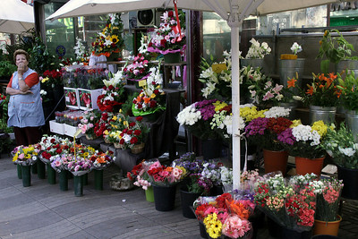 Flower Shop on La Rambla Street