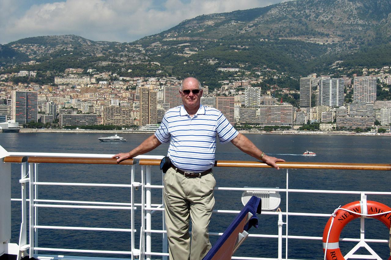 Dwayne on Ship at Monte Carlo
