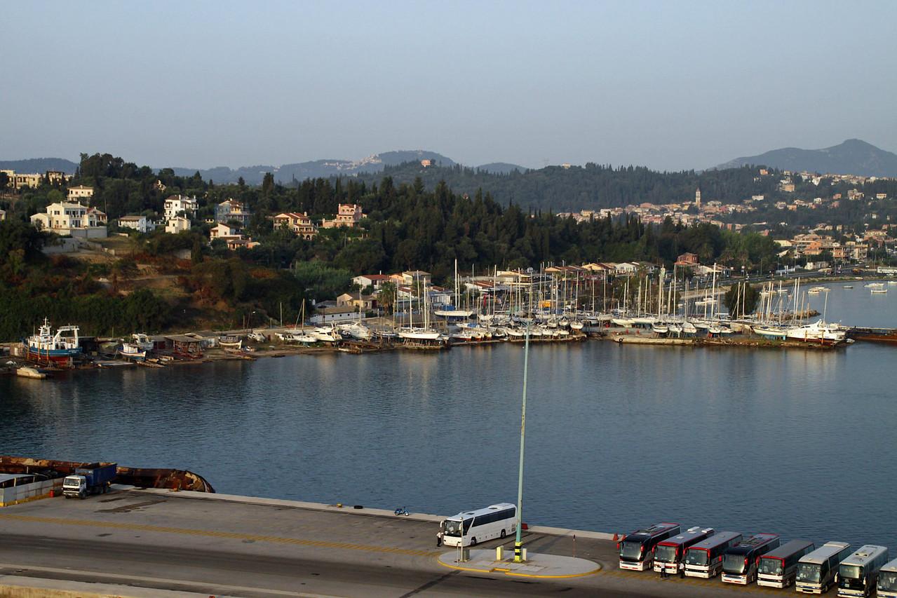 Corfu Harbor