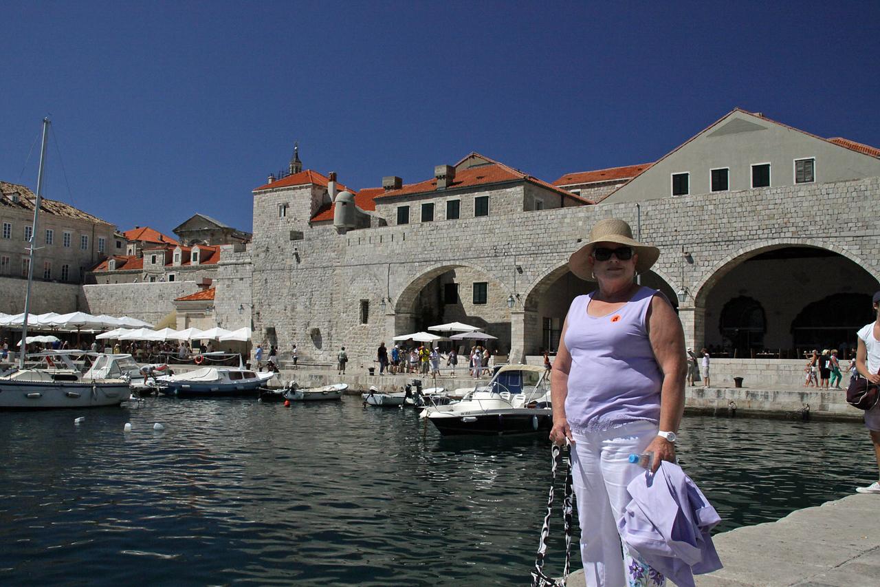 Old Harbor Outside Rear Gate