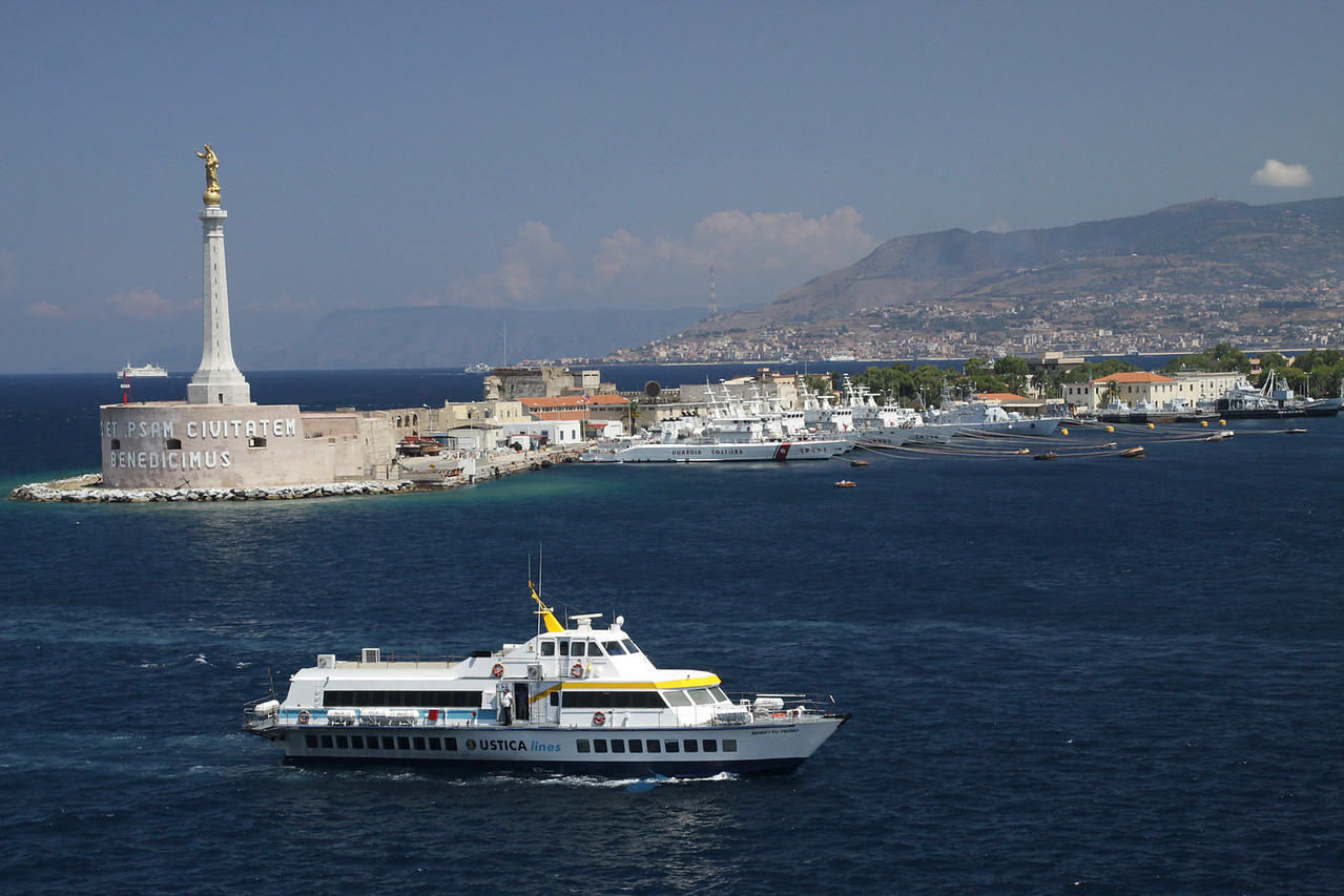 Harbor-  Messina, Italy (Island of Sicily)