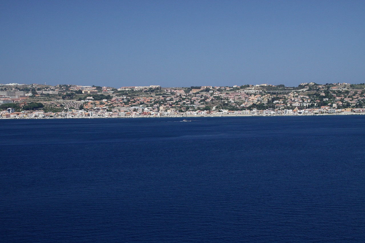 Sicily Coast - Approaching Messina