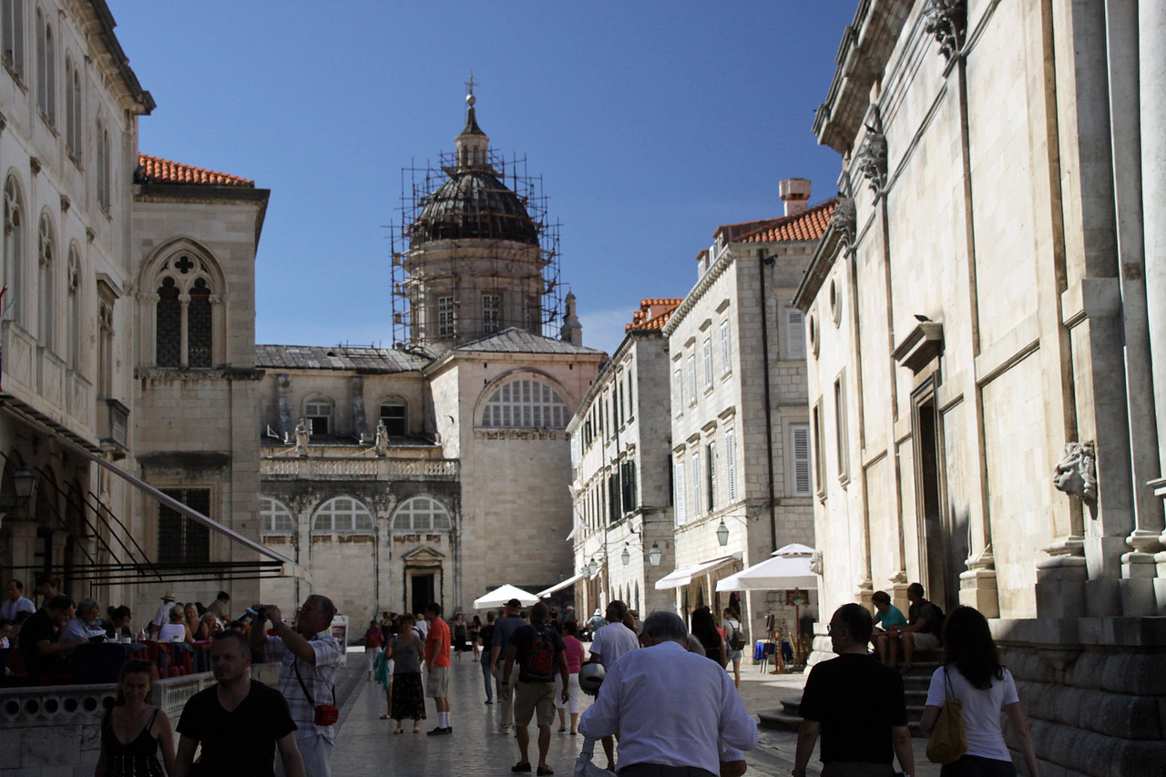 Street & Cathedral Tower