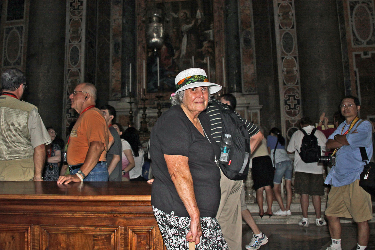 St. Peter's Basilica - Betty