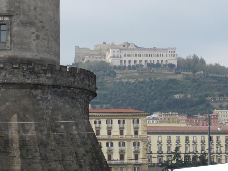 Naples - old castle, ancient castle.