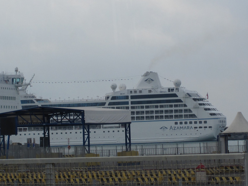 The wonderful Azamara Cruise ship.