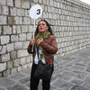 Manuela, our first tour guide in Italy.  She was full of life and stories, but we often had to run to keep up with her.