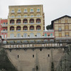 Note the hotel is built on the ancient rocks of the Sorrento Port.