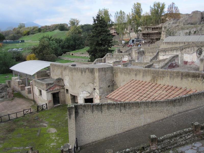 On outskirts of Pompeii