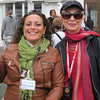 Judi, with Manuela, our guide the first day.
