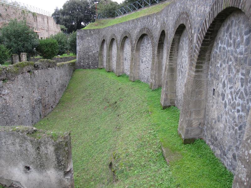 the ancient aquaducts