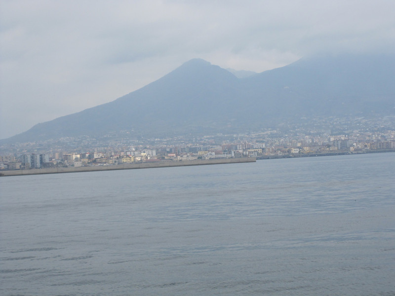 City at the foot of Mount Vesuvius.