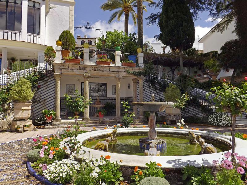 St John Bosco's Garden at Ronda, Spain