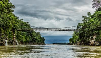 Dawki Hanging Bridge- Meghalaya