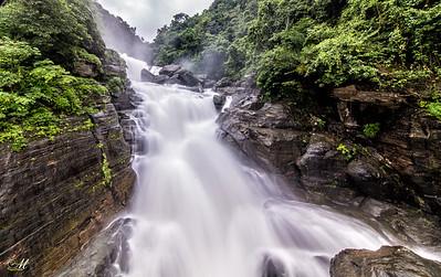 Borhill Falls- Meghalaya