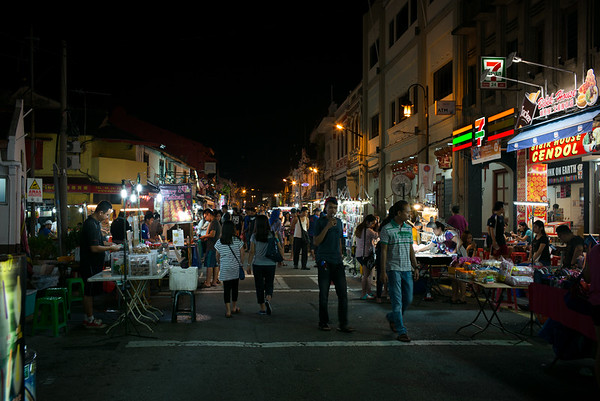 Night Market on Jonker Street