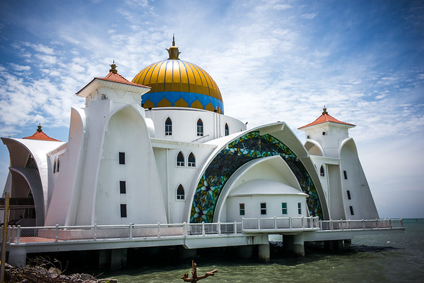 Mosque on the sea!