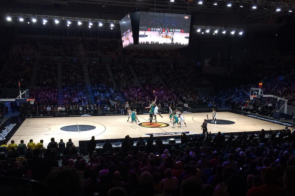 "Jump Ball - The Australian Men's Basketball Team, ""The Boomers"" v the Pac12 All Stars, Game 2, Thursday 14 July 2016, Hisense Arena - Melbourne, July 2016"