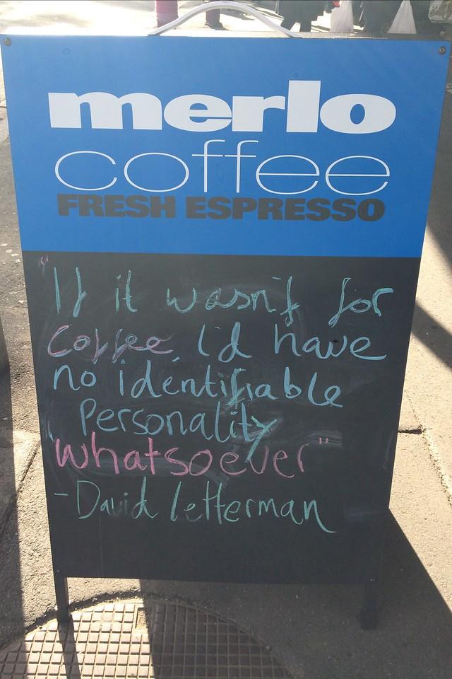 Merlo Coffee Shop (Merlo Torrefazione) -  Queen Victoria Markets -