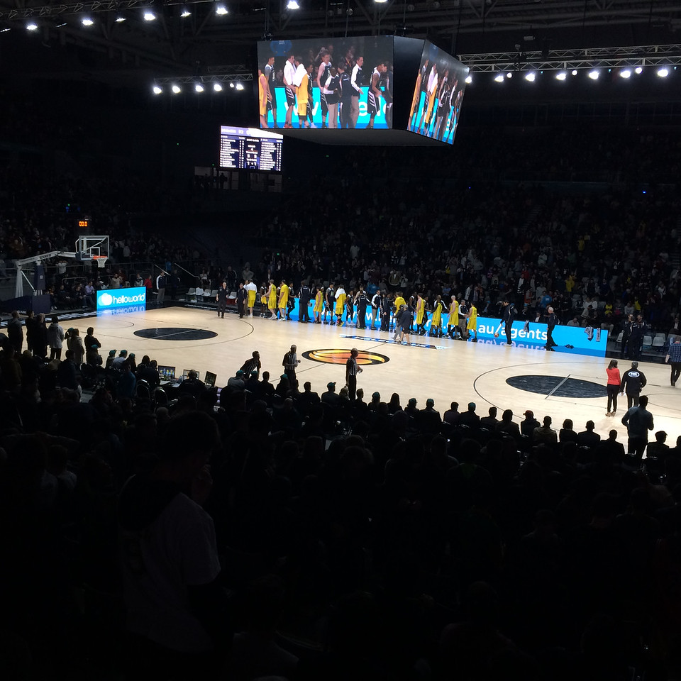 "Game 1: The Australian Men's Basketball Team (""The Boomers"") v the Pac 12 All Stars, Tuesday 12 July 2016, Hisense Arena, Melbourne."