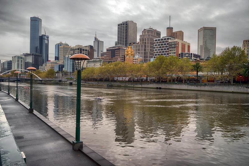 Yarra River Downtown Melbourne