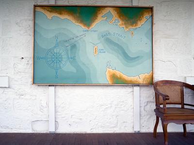 Map of Cap Otway