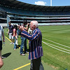 Our MCG tour guide rocking a badass coat. He used to be an AFL referee and moved pretty quickly.
