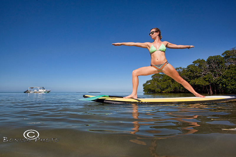 Stand Up Paddle Board Instructor Alexa Mae - Mellow Ventures Key West - Photo by Pat Bonish