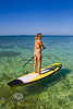Alexa Mae on the Stand Up Paddle Board - Mellow Ventures Key West - Photo by Pat Bonish