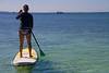 Cindy Bonish Stand Up Paddle Boarding - Mellow Ventures Key West - Photo by Pat Bonish