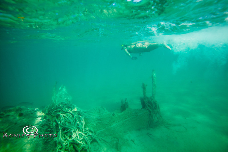 Snorkeling above the ship wreck - Mellow Ventures Key West - Photo by Pat Bonish