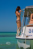 Katie Smith on the Catamaran with Mellow Ventures Key West - Photo by Pat Bonish