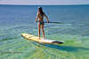 Stand Up Paddle Boarding on the Flats - Katie Smith with Mellow Ventures Key West - Photo by Pat Bonish