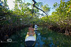 Narrow Mangrove Canals - Mellow Ventures Key West - Photo by Pat Bonish