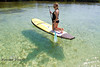 Jessie Zevalkink on the Stand Up Paddle Board - Mellow Ventures Key West - Photo by Pat Bonish