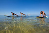 Planking on the Paddle Boards - Mellow Ventures Key West - Photo by Pat Bonish