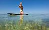 This takes serious balance - Alexa Mae Yoga Instructor - Mellow Ventures Key West - Photo by Pat Bonish