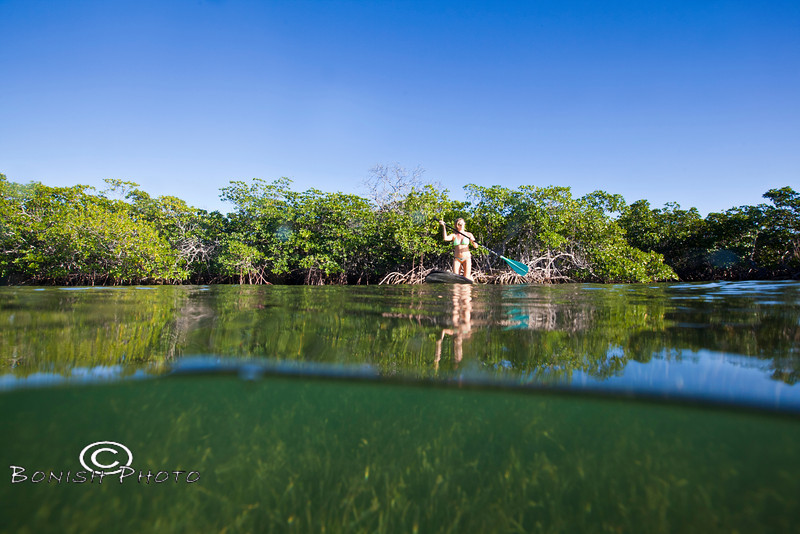 Shallow Waters surrounding the islands - Mellow Ventures Key West - Photo by Pat Bonish
