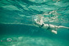 Swimming beside the ship wreck - Mellow Ventures Key West - Photo by Pat Bonish