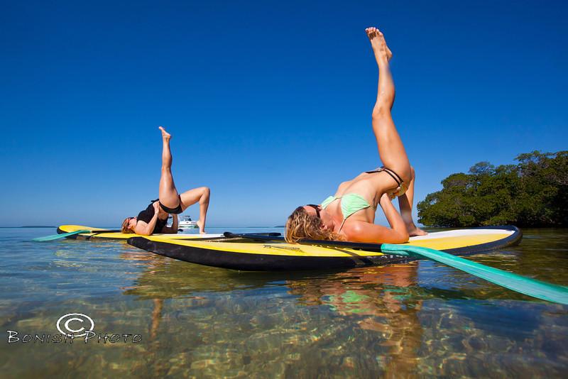 Paddle Board Yoga - Mellow Ventures Key West - Photo by Pat Bonish (2)