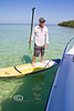 Rob launching on the Stand Up Paddle Board - Mellow Ventures Key West - Photo by Pat Bonish