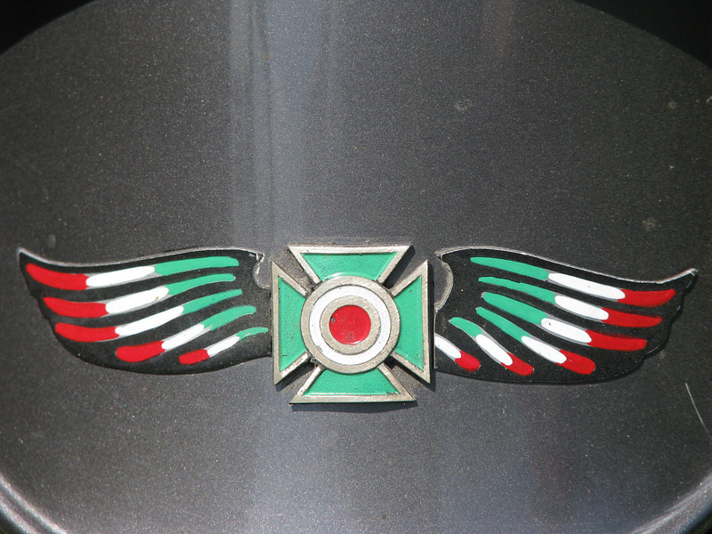 An Italian twist on the Maltese cross and eagle wings, ala HD.