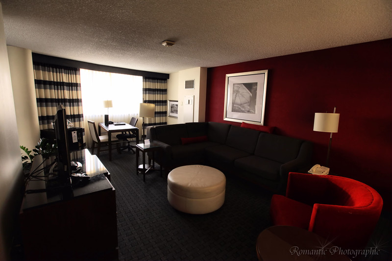 The Miami Airport Hilton set me up with a suite in January of 2011. There was nothing better than coming back from a day of delivery and crash on that couch.