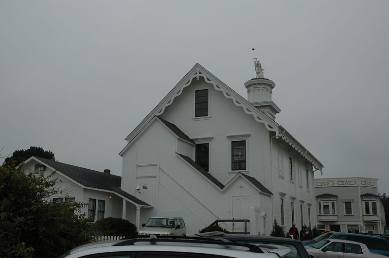 Mendocino church & civic building.  I need to do research to find out what it is called...