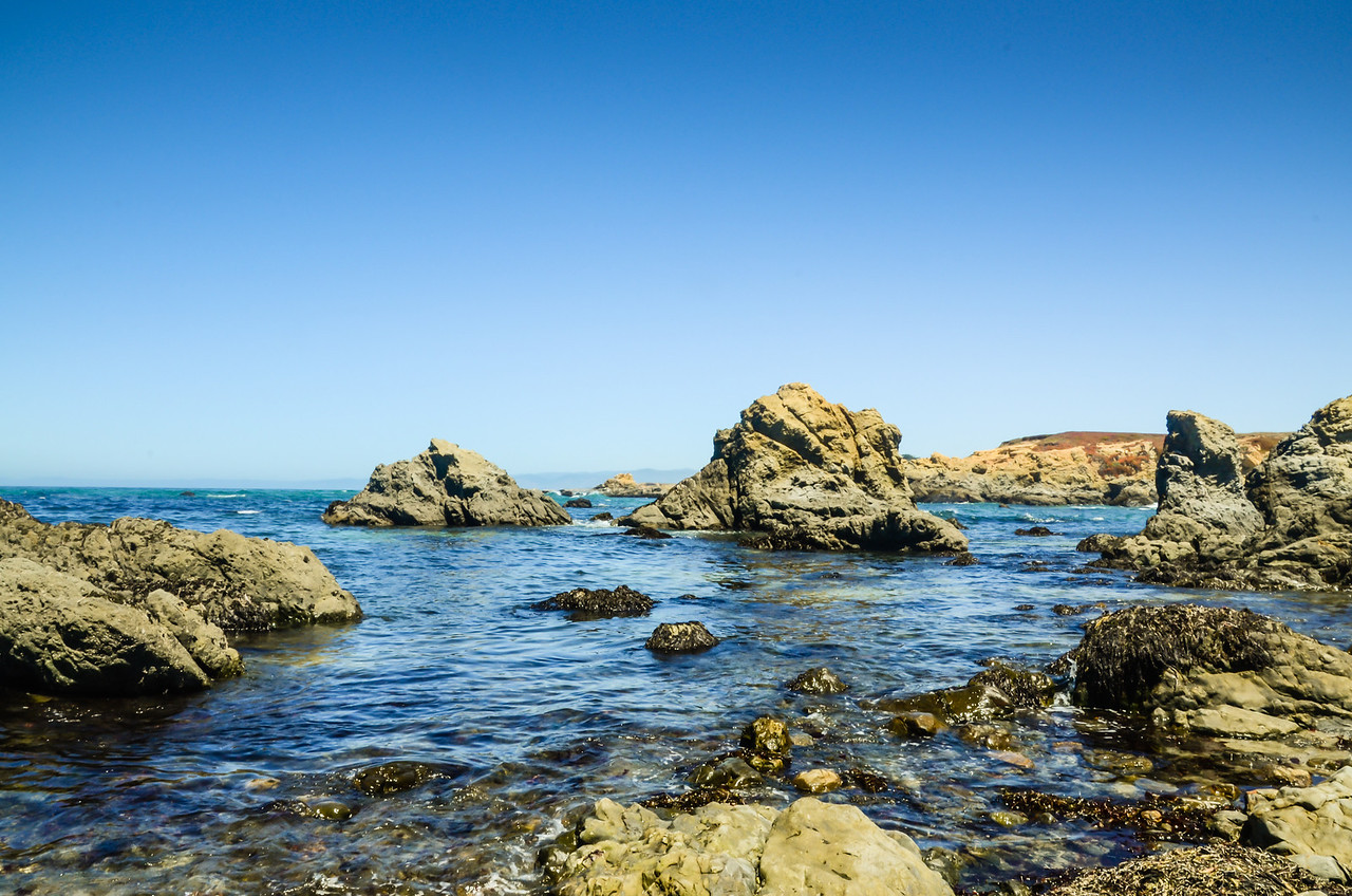 The View from Glass Beach