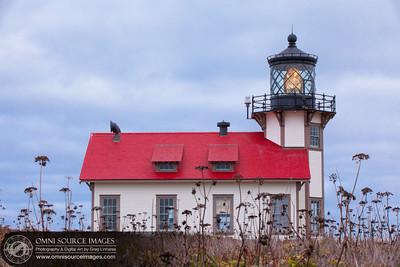 Point Cabrillo Lighthouse - Mendocino County, CA.